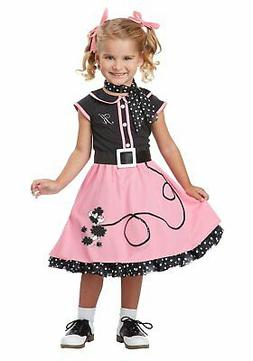 California Costumes Collections 00134 Toddler 50's Poodle Cu
