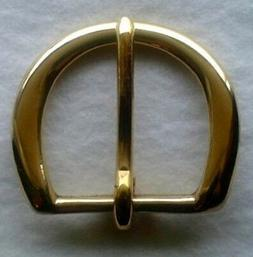 "1-1/2""  Solid Brass belt buckle"