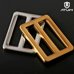 1/2pcs WUTA Stainless Steel Belt Buckle Classical Tongue Pin