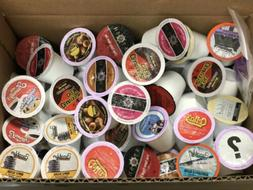 160 Coffee K Cups Cocoa Tea Lot Variety Pods Lot Keurig K-Cu