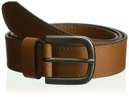 Dickies 100% Leather Jeans Belt with Stitch Design and Prong