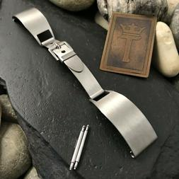 1940s Military Vintage Watch Band The Baron Stainless Steel