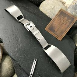 1940s Military Vintage Watch Band The Captain Stainless Stee