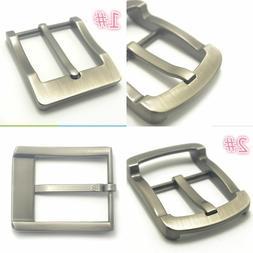 1pc Men Leather Belt Waistband Replacement Pin Buckle Zinc A