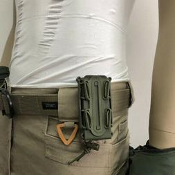 1x Portable Belt Buckle Rifle Cartridge Accessory Storage Bo
