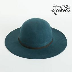 2017 Autumn winter New Wool Belt buckle dome Top Hat For Wom
