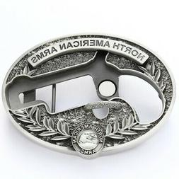 NORTH AMERICAN ARMS BBS-L NAA LNG RFL SKELETON BELT BUCKLE