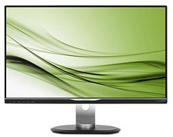 "Philips 258B6QUEB 25"" USB-C Monitor, Quad HD 2560x1440 IPS,"