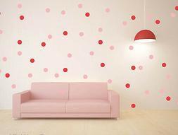 27 Colors Polka Dot Art Wall Sticker for Girl Bedroom Decor