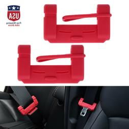 2Colors 2X Universal Car Seat Belt Buckle Silicone Cover Cli