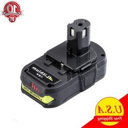 2x For P108 Ryobi 18V One+ Plus Lithium High Capacity Batter