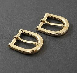 3/4 inch/20mm Belt Buckle set  horse shoe styl Gold Color NE