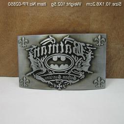 3D Belt Buckle Men Novelty Zinc Alloy Batman Movie Belt Buck