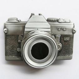 3d camera photography belt buckle