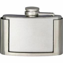 Maxam 3oz Flask Belt Buckle w/Stainless Steel Construction -