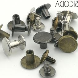SICODA 4/20pcs Alloy screw for leather <font><b>belt</b></fo