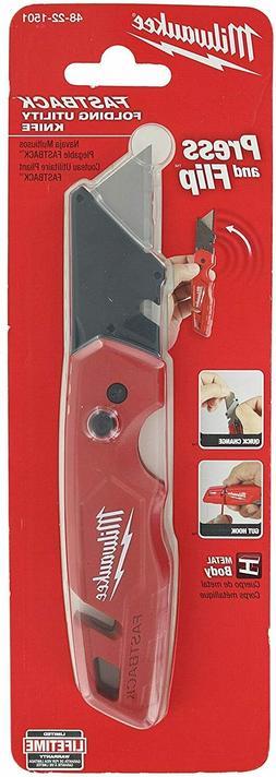 Milwaukee 48-22-1501 FASTBACK™ Folding Utility Knife - Wir
