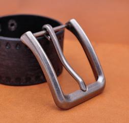4cm Alloy Men Pin Waist Leather Single Belt Buckle Head Pron