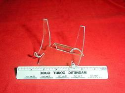 """~5 Premium 4"""" Display Stands Easel Belt Buckles Compacts Rou"""