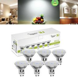 6 Pack GU10 LED Bulbs 3W MR16 Bulb Daylight 350 Lumens 50W H