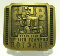 John Deere 855 Compact Utility Tractor Brass Belt Buckle 199
