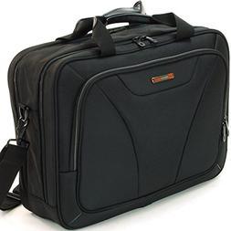 "Alpine Swiss Cortland 15.6"" Laptop Bag Organizer Briefcase B"