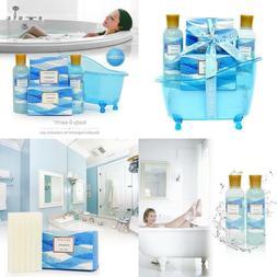 Christmas Gift Basket Set Bath and Body Works Spa Lotion Soa