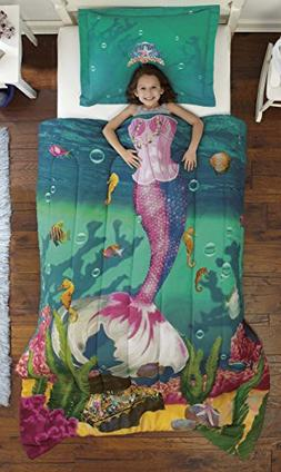 Dream Big Sea Princess Ultra Soft Microfiber 2-Piece Comfort