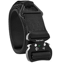 Fairwin Tactical Rigger Belt, Nylon Webbing Waist Belt with
