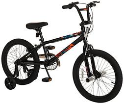 Mongoose Switch Boy's Freestyle BMX Bike with Training Wheel