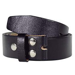 NPET Men's Classic Full-Grain Belt Genuine Leather Belt with
