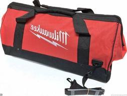 "New Large Milwaukee Heavy Duty Duffle Tool Bag 25""L X 13""W X"
