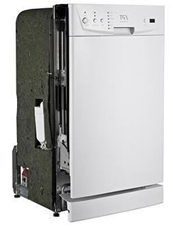 """SPT SD-9252W Energy Star 18"""" Built-In Dishwasher, White"""
