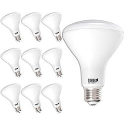 Sunco Lighting 10 Pack BR30 LED Bulb 11W=65W, 3000K Warm Whi