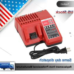 Topbatt Battery Charger for Milwaukee M18 14V-18v Li-Ion 48-