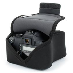USA Gear DSLR Camera Case / SLR Camera Sleeve  with Neoprene