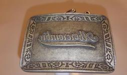 Abercrombie & Fitch Silver metal Replacement Belt  Buckle Sp