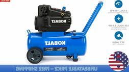 Air Compressor 8 Gallon 1.8 HP 150 PSI 120 Volt Horizontal P