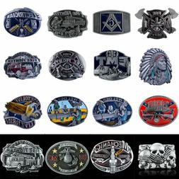Alloy Metal Mens Cowboy Western Belt Buckle Vintage Buckle R