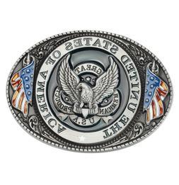 American eagle flag <font><b>leather</b></font> <font><b>bel