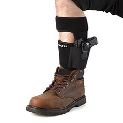 LIRISY Ankle Holster for Concealed Carry | Non-Slip with Cal