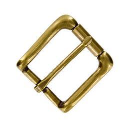 Antique Brass Dress Belt Buckle Solid Brass Buckle fit's 1-1