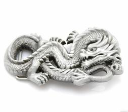 Asian Chinese Dragon Metal Fashion Belt Buckle