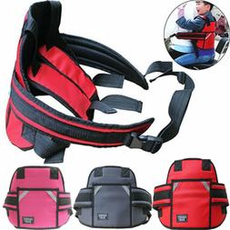 Baby Kids Motorcycle Safety Seat Strap Belt Buckle Harness R