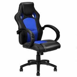 High Back Race Car Style Bucket Seat Office Desk Chair Gamin