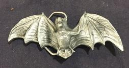 "BAT WINGS BELT BUCKLE APPROX. 5"" X 2"""