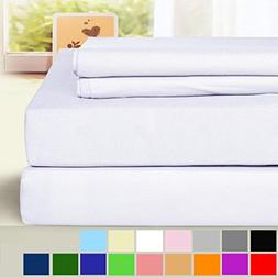 BLC Bed Sheet Set, Hypoallergenic Microfiber 3-piece sheets