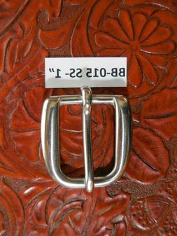 """BELT BUCKLE 1 INCH STAINLESS STEEL FOR A 1"""" WIDE BELT ATTRAC"""