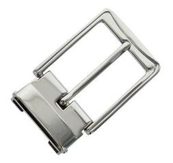 Belt Buckle Antique Silver Tone Clamp on Buckle fit's 1-3/8