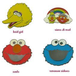 Sesame Street Belt Buckle Elmo Big Bird Cookie Monster Bert